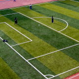 Gazon artificiel d'herbe pour le football, court de tennis, cour de jeu