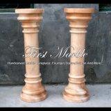 Colonna di marmo rossa per la decorazione domestica Mcol-315