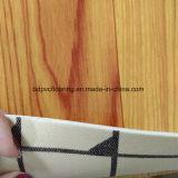 Plancher de roulis de PVC d'éponge de PVC de linoléum