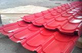 良質22のゲージのSGCC Prepainted波形の電流を通された鋼鉄屋根シート