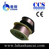500MPa等級のための0.8-1.2mmの二酸化炭素のミグ溶接ワイヤーEr70s-6
