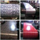PPGI para hacer el material para techos acanalado en bobina de acero cubierta color