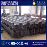 Sy295 JIS Standard Steel Sheet Pile 400X170X16mm