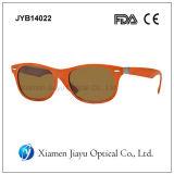 Óculos de sol elevados do plástico do tipo da forma de Xiamen Qiulity