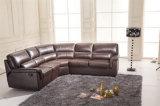 Meubles en cuir 657 de sofa de l'Italie de loisirs)