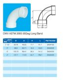Curvatura lunga del gomito 90deg di Dwv ASTM 2665