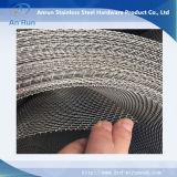 Rete metallica unita dell'acciaio inossidabile in azione urgentemente