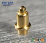 Connettore di Pin d'ottone Gold-Plated personalizzato di Pogo del caricatore del foro