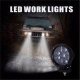 as luzes dos vagens do diodo emissor de luz da barra clara do cubo do CREE da luz de névoa do diodo emissor de luz do ponto 45W Waterproof a lâmpada do trabalho de direção do jipe para a luz Running Daytime Offroad do coletor SUV ATV UTV do caminhão 4WD