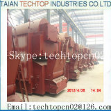 6ton Chain Grate Trevalling Grate Single Drum Coal Gired Packaged Boiler (DZL6-1.25-AII)
