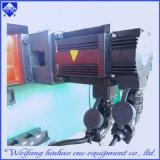 Maquinaria simple de la hoja de la prensa de sacador con la plataforma que introduce