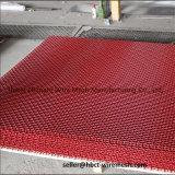 Triturador de pedra que vibra o engranzamento de fio frisado dobro da tela do aço de carbono elevado