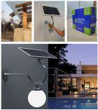 Sensor de LED de economia de energia Lâmpada solar exterior para rua
