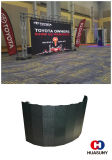 Visualizzazione flessibile P3 della tenda del LED come comitato TV
