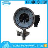 manometro di diaframma elettrico del contatto dell'acciaio inossidabile di 4 '' 100mm
