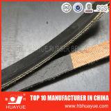 Banda transportadora de goma de la tela resistente del Ep de la abrasión