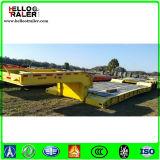 3 차축 60 톤 낮은 침대 트럭 트레일러