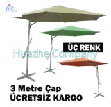 jardin Umbrella Hanging Parasol Outdoor Umbrella Hanging Parasol de 2.2X2.2meter Steel Wrench Umbrella