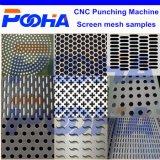 鋼板機械工CNCの打つ機械