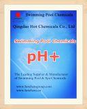 Luz de la ceniza de soda para el carbonato sódico de los productos químicos del tratamiento de aguas de la piscina