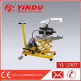 tirador hidráulico movible Yl-100t del carro de la grúa 100t