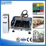 回転式軸線の木版画機械を切り分けるWw6090小さいCNC