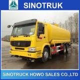 Caminhão de petroleiro do combustível de Sinotruk 6X4 20cbm com 2 compartimentos