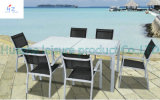 Sofa di vimini Outdoor Rattan Furniture con Chair Table Wicker Furniture Rattan Furniture con Chair e Table Furniture