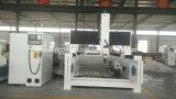 180程度回転スピンドル3D彫刻CNCのルーターの価格(IGF-1530)