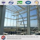 Centro commerciale prefabbricato della struttura del blocco per grafici del metallo
