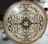 De mooie Marmeren Waterjet Marmeren Tegel van het Medaillon van de Tegel van de Vloer