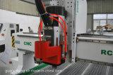 Huso de HSD, Mesa de vacío, Auto cambiador de herramientas, Sistema de Syntec Profesional CNC Router Máquina Atc CNC Router Center