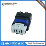 connecteur bleu automatique femelle de Fci de boîtier du câble 4pin