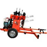 150m Trailer Mounted Mobile Water Well und Core Drilling Rig