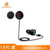 Nouveau kit voiture FM Bluetooth pour téléphones intelligents