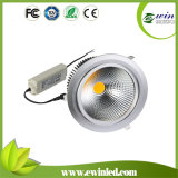 3600-4000lm 50W COB LED Downlight con 3 Years Warrant