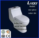 Toilette en céramique chaude monopièce/d'une seule pièce avec Saso/Ce