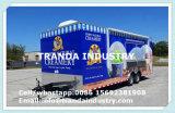 2017 Vrachtwagen van het Voedsel van de Aanhangwagen van het Voedsel van de Straat van de Douane van de Hotdog van de Catering van de Levering van China de Mobiele met Wielen