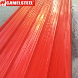 Galvanisierte Blatt-Dach-Material-Farben-überzogene gewölbte Stahlblech-Fliese