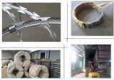Колючая проволока бритвы в изготовлении Китая