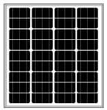 панель солнечных батарей 18V 75W-85W Mono (2017)