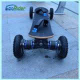 E van het Wiel Brushless 1800W Samsung Lithium van het Skateboard 36V van Weg Elektrische Skateboard
