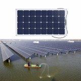 2017 comitato solare semi flessibile personalizzato nuovo disegno 100W 18V
