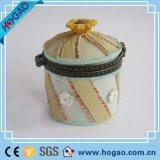 Коробка ювелирных изделий побрякушки раковины смолаы Polyresin