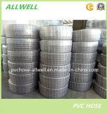 PVCプラスチック鋼線補強された水油圧産業排出管のホース