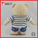 Angefüllte Plüsch-Teddybär-Spielwaren mit Tuch
