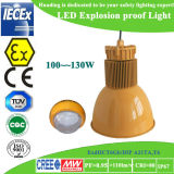 Luz a prueba de explosiones de la UL 130W LED de Atex para el producto químico