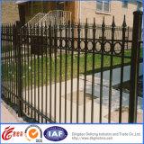 Schwarzer Classic Garten Metal Fence mit Gate