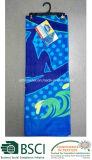 Baumwollreagierendes gedrucktes Badetuch 100% des Mosaik-Shell-Entwurfs