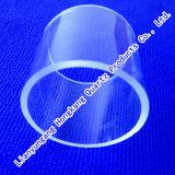 Tube de verre clair de quartz de tuyauterie de quartz